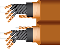 Wireworld Electra 7 Power Conditioning Cord cutaway, shielded, best, high-end, audiophile, videophile